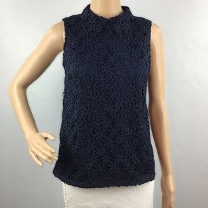 Anthropologie Lili's Closet Top Size XS Blue